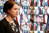 """Emma Wiesner, marknadsanalytiker, SWECO, presenterade rapporten """"Jämförelse av industrins elkostnad"""""""
