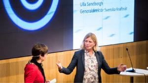 Ulla Sandborg generaldirektör Svenska Kraftnät
